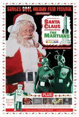 Постер фильма Санта Клаус завоевывает марсиан (1964)