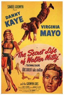 Постер фильма Тайная жизнь Уолтера Митти (1947)