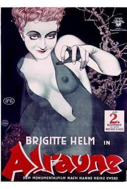 Постер фильма Альрауне (1928)