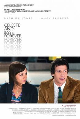Постер фильма Селеста и Джесси навеки (2012)