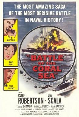 Постер фильма Битва в Коралловом море (1959)