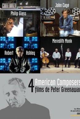 Постер фильма Четыре американских композитора (1983)
