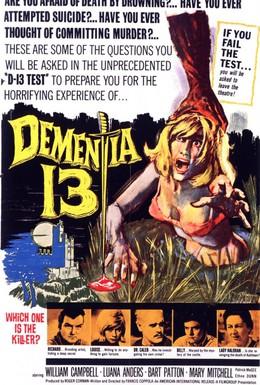 Постер фильма Безумие 13 (1963)