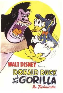 Постер фильма Дональд Дак и горилла (1944)