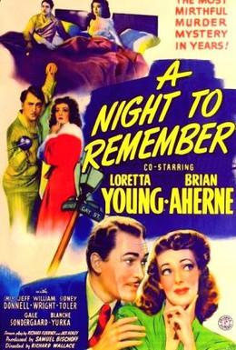 Постер фильма Незабываемая ночь (1942)