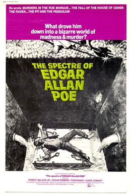 Постер фильма Спектр Эдгара Аллана По (1974)