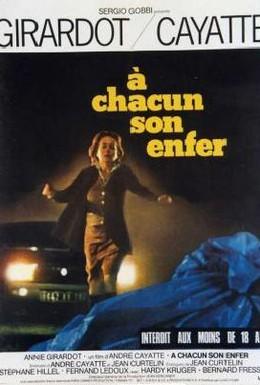 Постер фильма Каждому свой ад (1977)