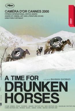 Постер фильма Время пьяных лошадей (2000)
