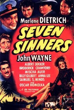 Постер фильма Семь грешников (1940)