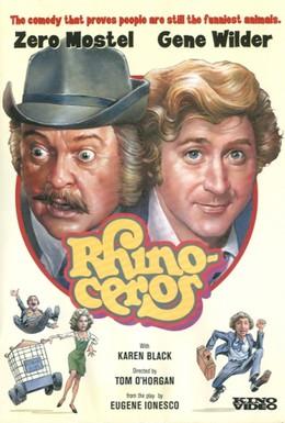 Постер фильма Носорог (1974)