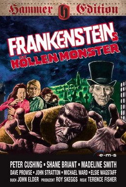 Постер фильма Франкенштейн и монстр из ада (1974)