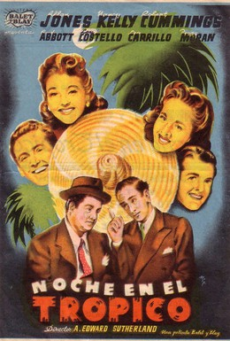 Постер фильма Одна ночь в тропиках (1940)