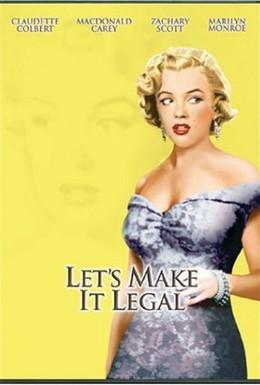 Постер фильма Давай сделаем это легально (1951)