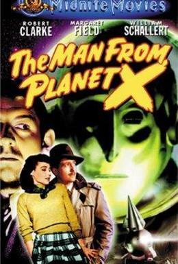 Постер фильма Человек с Планеты Икс (1951)
