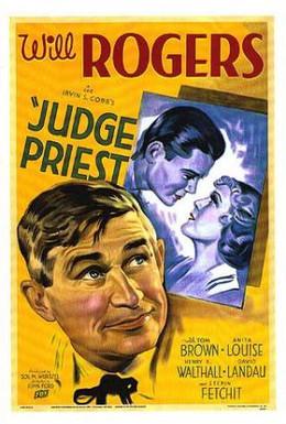 Постер фильма Судья Прист (1934)