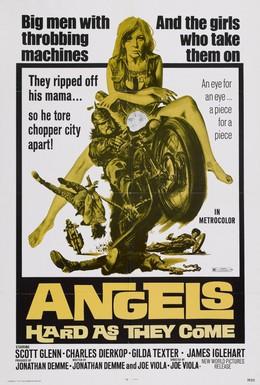 Постер фильма Ангелов круче не бывает (1971)