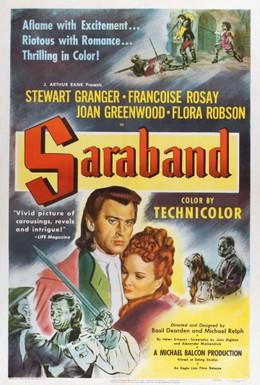 Постер фильма Сарабанда для мертвых влюбленных (1948)