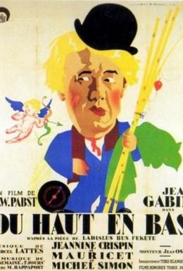 Постер фильма Сверху вниз (1933)