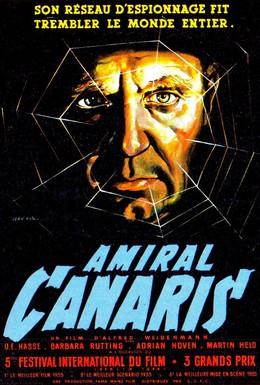 Постер фильма Канарис (1954)