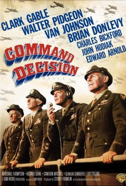 Постер фильма Командное решение (1948)