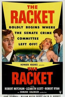 Постер фильма Рэкет (1951)