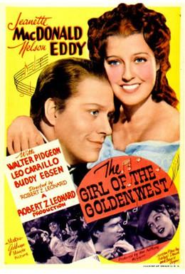 Постер фильма Девушка Золотого Запада (1938)