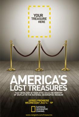Постер фильма Потерянные сокровища Америки (2012)