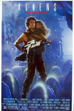 Постер фильма Чужие (1986)