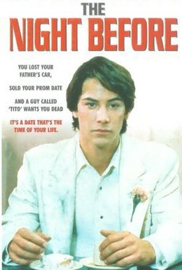 Постер фильма Прошлой ночью (1988)