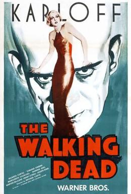 Постер фильма Разгуливая мертвым (1936)