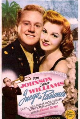 Постер фильма Медовый месяц втроем (1945)