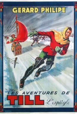 Постер фильма Приключения Тиля Уленшпигеля (1956)