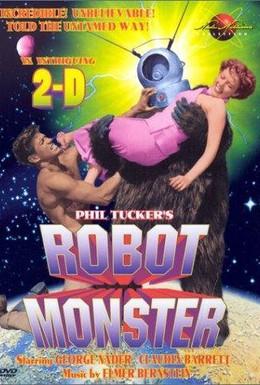 Постер фильма Робот-монстр (1953)