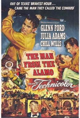 Постер фильма Человек из Аламо (1953)