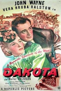 Постер фильма Дакота (1945)