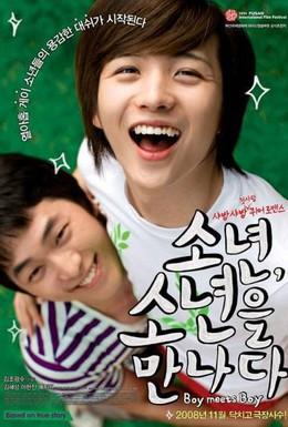 Постер фильма Мальчик встречает мальчика (2008)