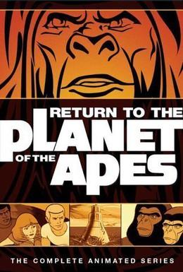 Постер фильма Возвращение на планету обезьян (1975)