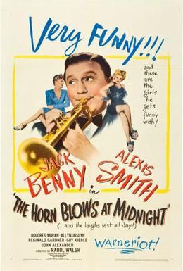 Постер фильма Звуки горна в полночь (1945)