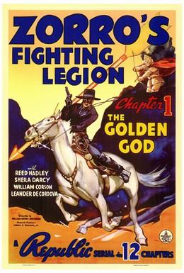Постер фильма Сражающийся легион Зорро (1939)