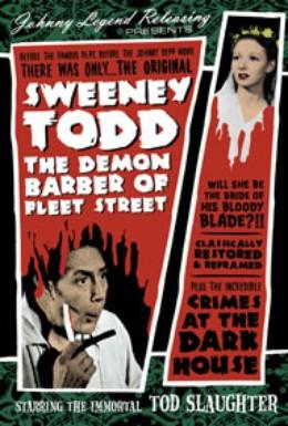 Постер фильма Суини Тодд, демон-парикмахер с Флит-стрит (1936)
