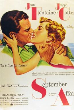 Постер фильма Сентябрьская афера (1950)