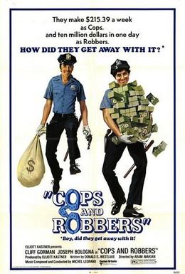 Постер фильма Полицейские и разбойники (1973)