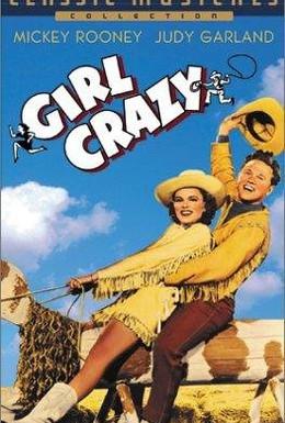 Постер фильма Сумасшедшая девчонка (1943)