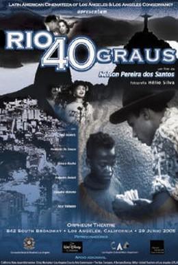 Постер фильма Рио, 40 градусов (1955)