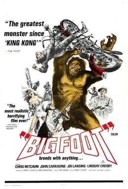 Постер фильма Бигфут (1970)
