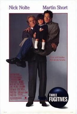 Постер фильма Три беглеца (1989)