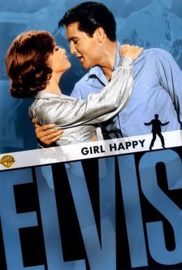 Постер фильма Счастлив с девушкой (1965)