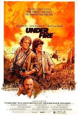 Постер фильма Под огнем (1983)