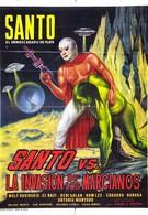 Санто против вторжения марсиан (1967)