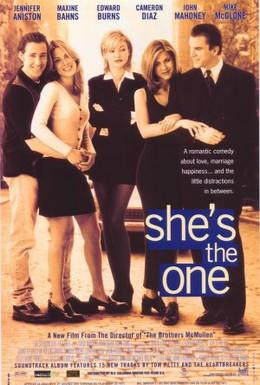 Постер фильма Только она единственная (1996)